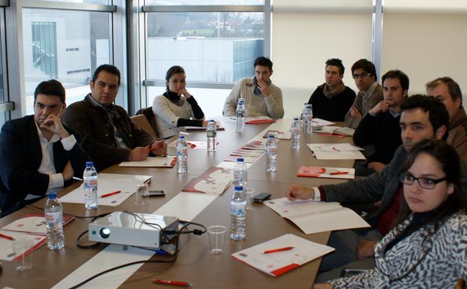 Mesas de Trabajo AJE Asturias