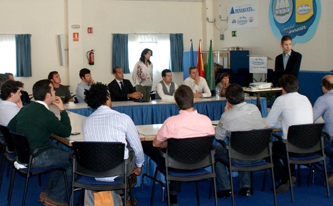Visitas a Grandes Empresas AJE Asturias